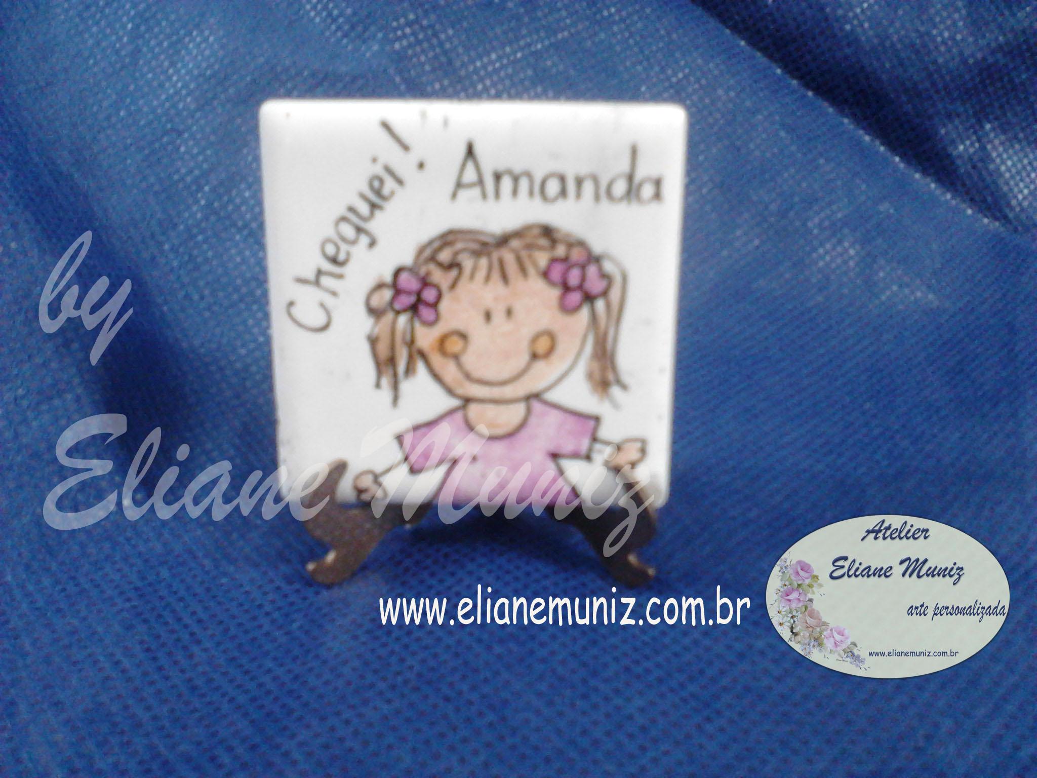 Pastilha Carinhas Amanda