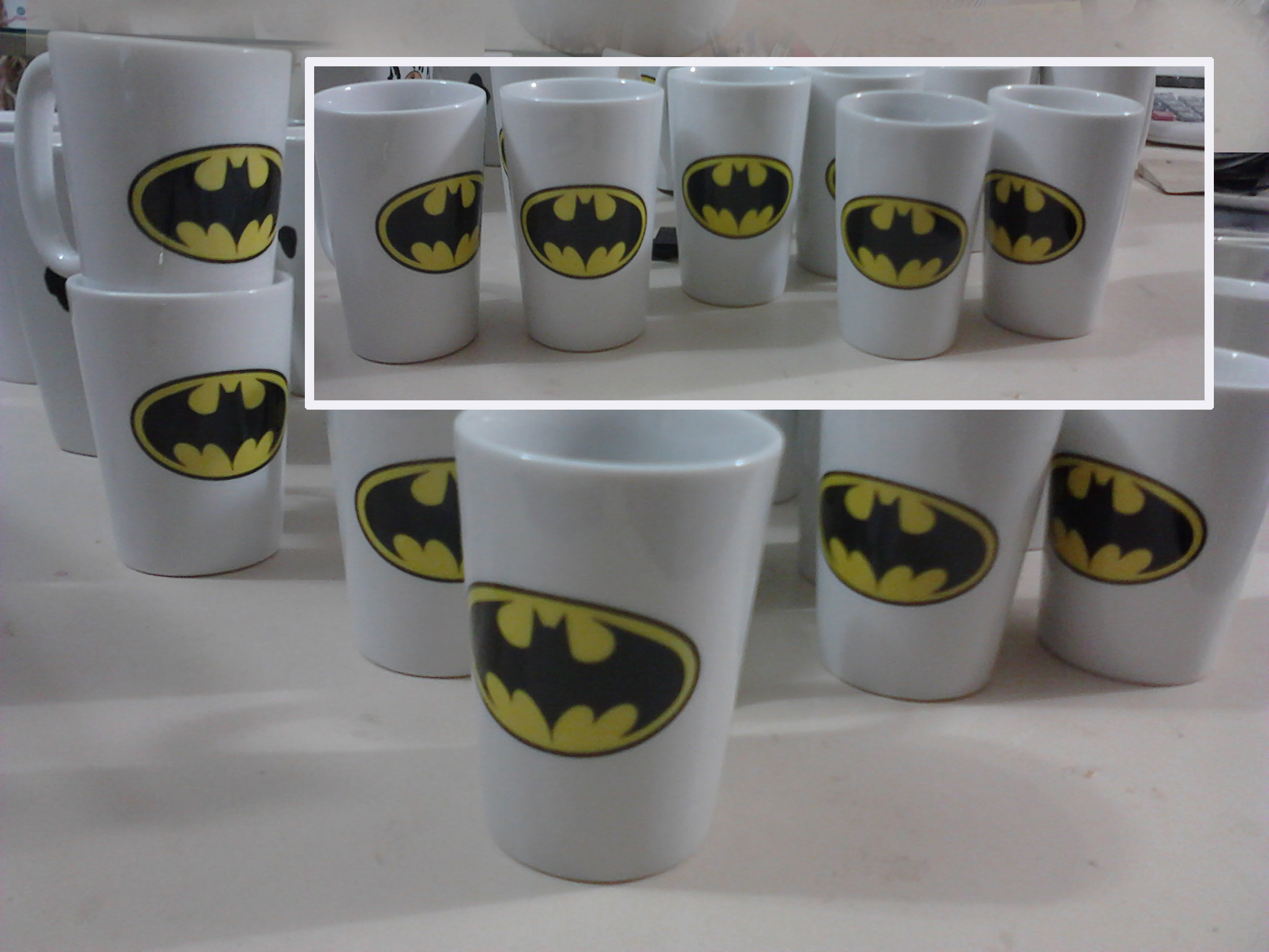Mini Caneca Stilo Batman